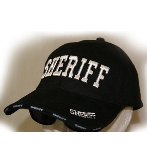 RF-053823 Black SHERIFF Cap