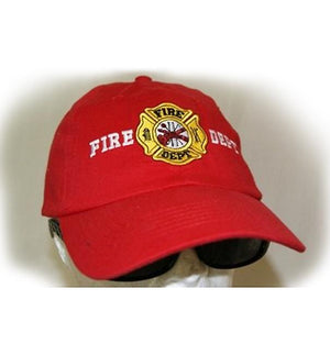 RF-054967 Red Fire Department Cap