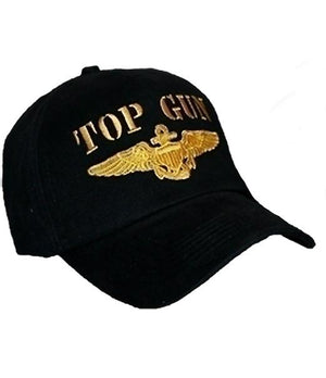 RF-055186 Top Gun Black Cap