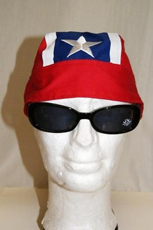 RF-100992 Rebel Flag Skull Cap