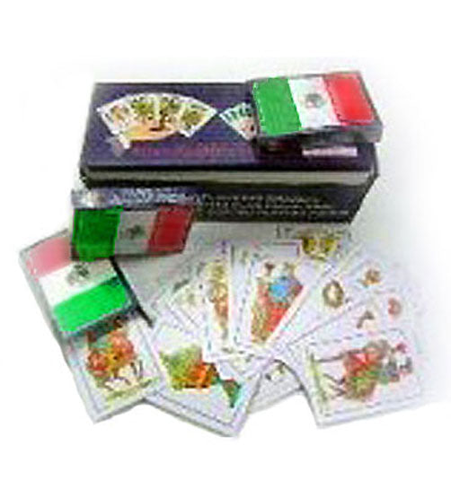 Mexico Flag Baraja Playing Cards