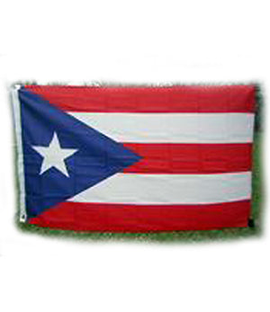 Puerto Rico flag 3-feet by 5-feet 830356