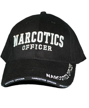 RF-301368 Black Narcotics Officer Cap