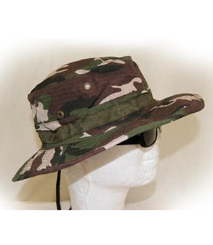 RF-5313 Woodland Camouflage Bucket Hat