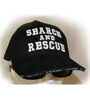 RF-55216 Black Search and Rescue Cap