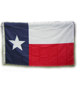 Texas state polyester flag with canvas header RF-830721