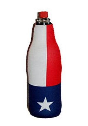 Texas flag insulated bottle jacket 760264