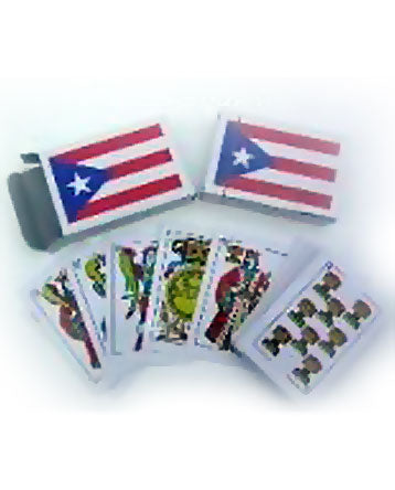 Puerto Rico Flag Baraja Playing Cards