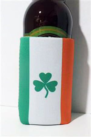 Flag of Ireland insulated can cooler koozie 882683