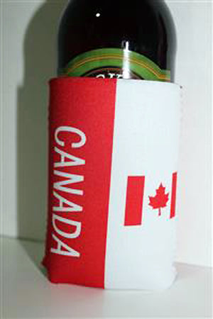 flag of Canada insulated can holder cooler 882706