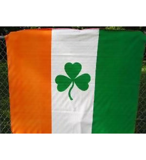 Irish flag polar fleece blanket is 50x60-inches 980903