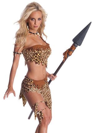 Jungle Jane 4-piece costume 880114