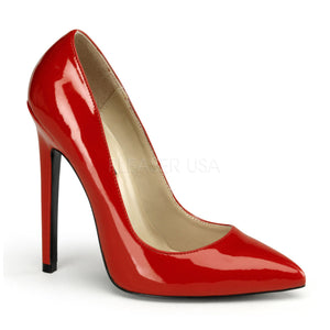 red pointed toe pump with 5-inch spike heels Sexy-20