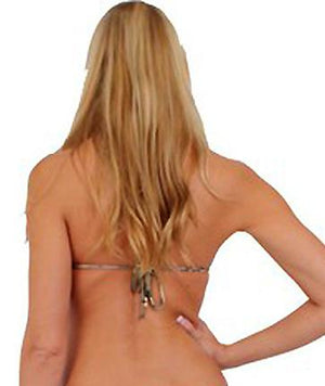 back view of Camouflage bikini triangle top ST235T