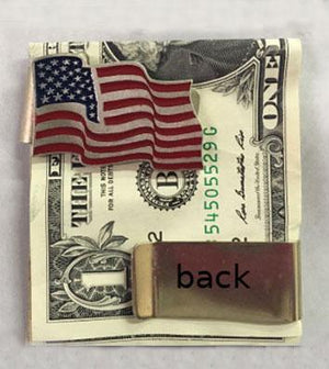WC-MCUSA CLOSEOUT-American Flag Money Clip