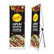 "X-Stand Banner Display 32""x71"""