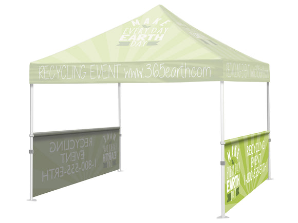 Event Tent / Canopy -  Half Wall