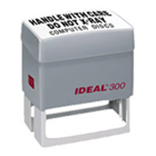 Ideal 300 Rubber Self Inking Stamp