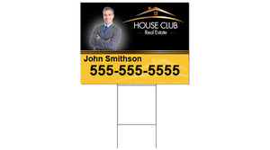 Realtor - Yard Sign and H-Stake