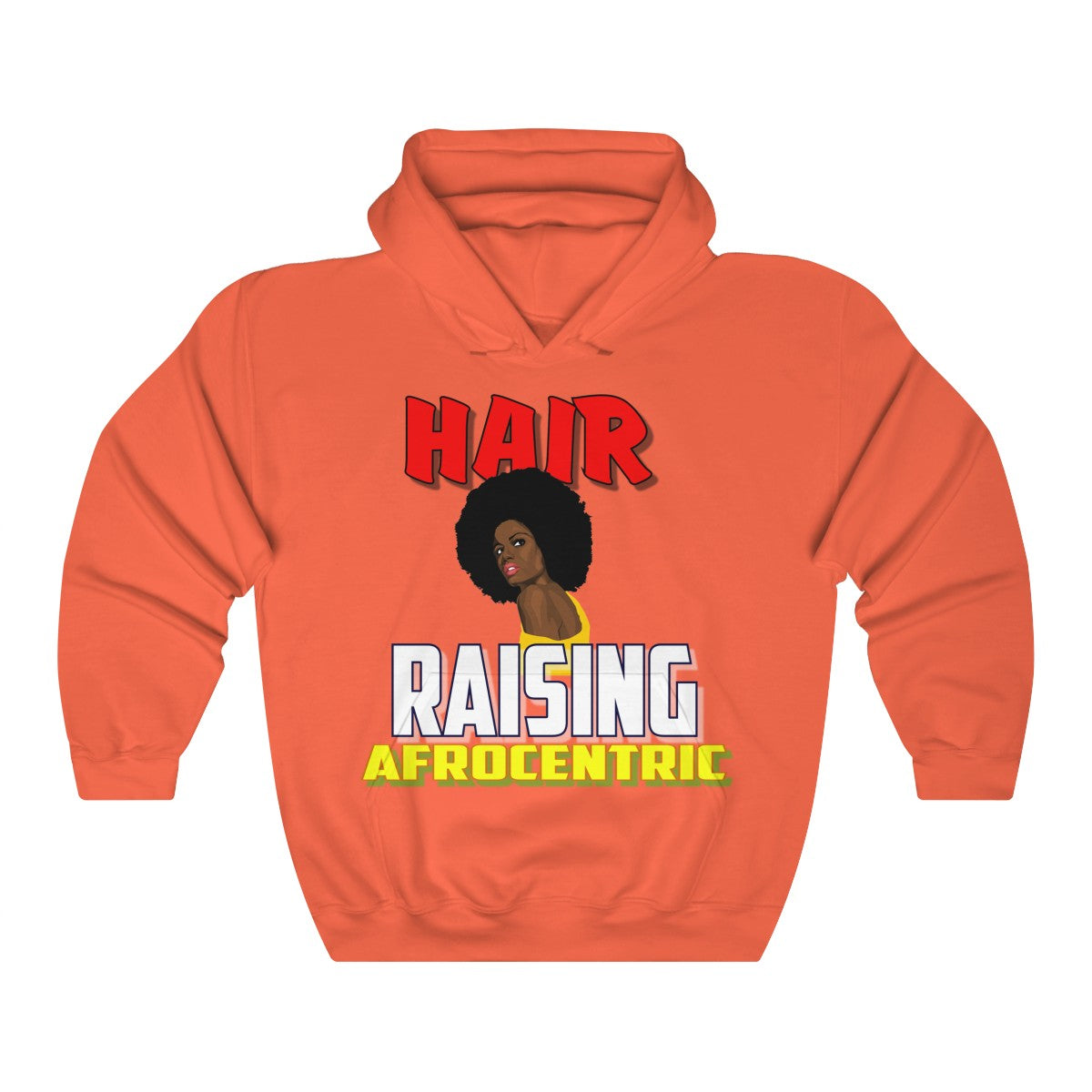 Unisex Heavy Blend™ Hooded Sweatshirt - Hair Raising Afrocentric