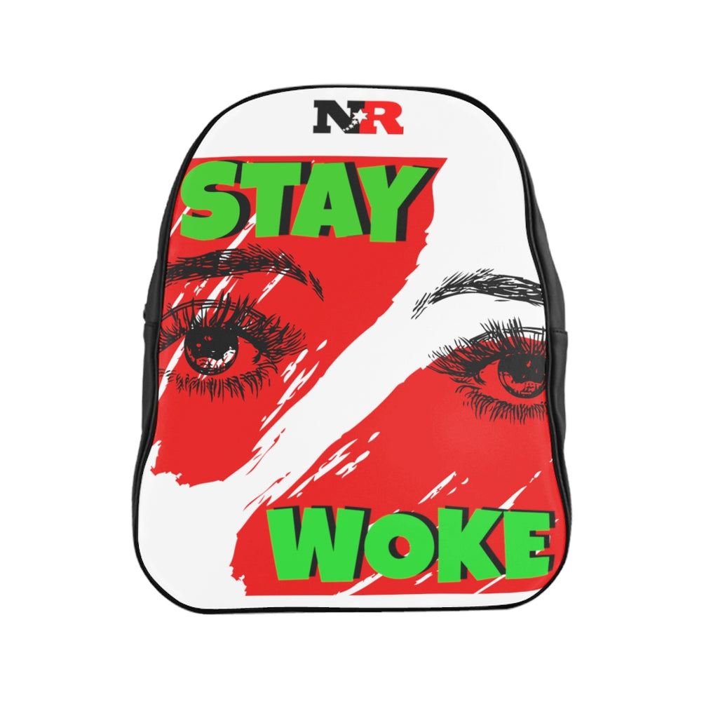 School Backpack - Stay Woke
