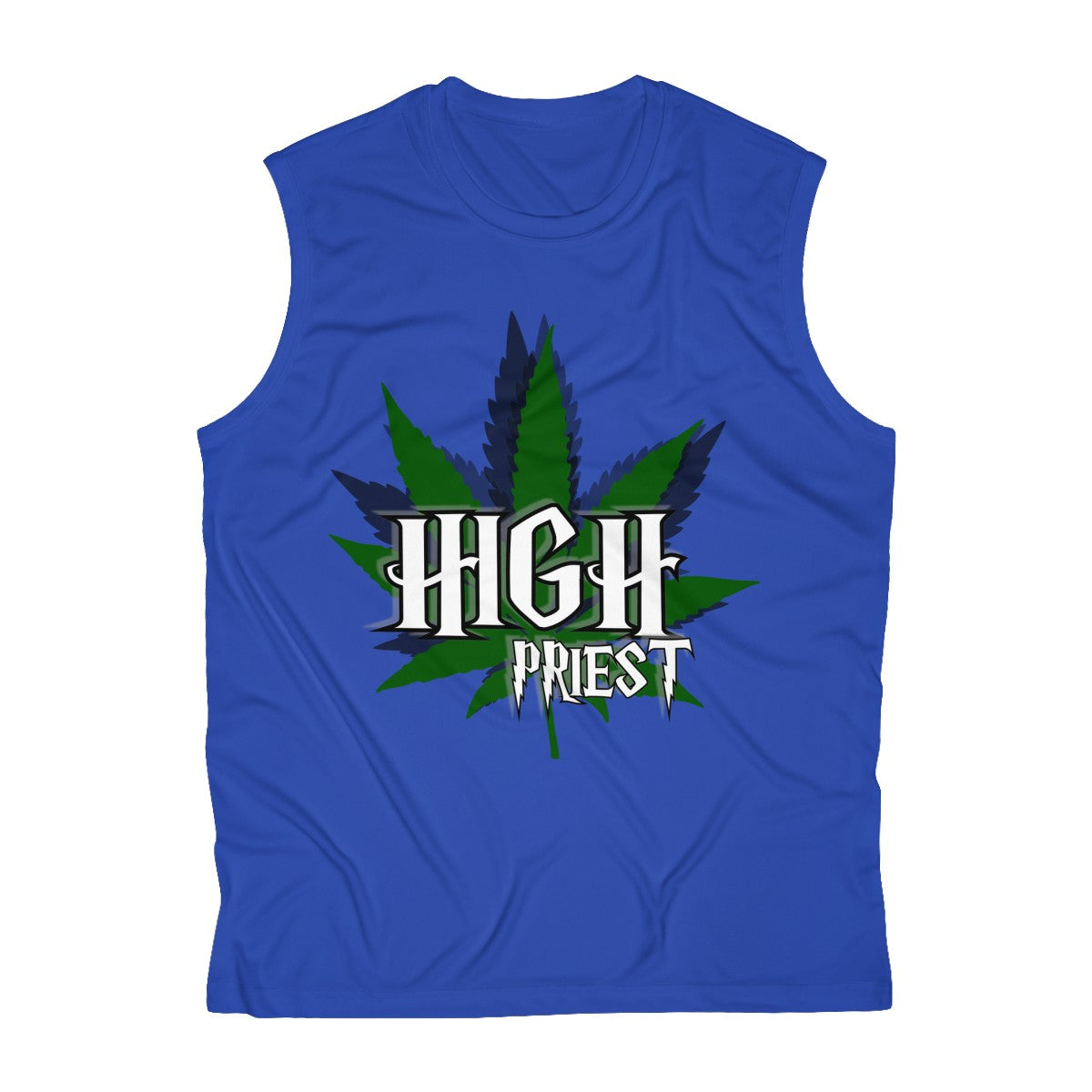 Men's Sleeveless Performance Tee - High Priest