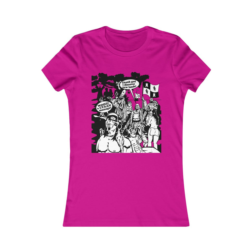 Women's Favorite Tee - Christopher Columbus