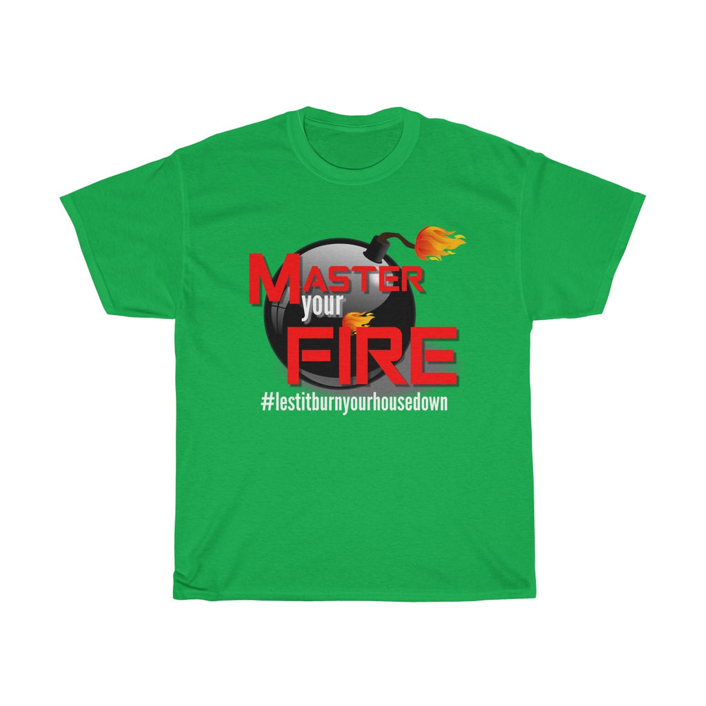 Unisex Heavy Cotton Tee - Master your Fire II