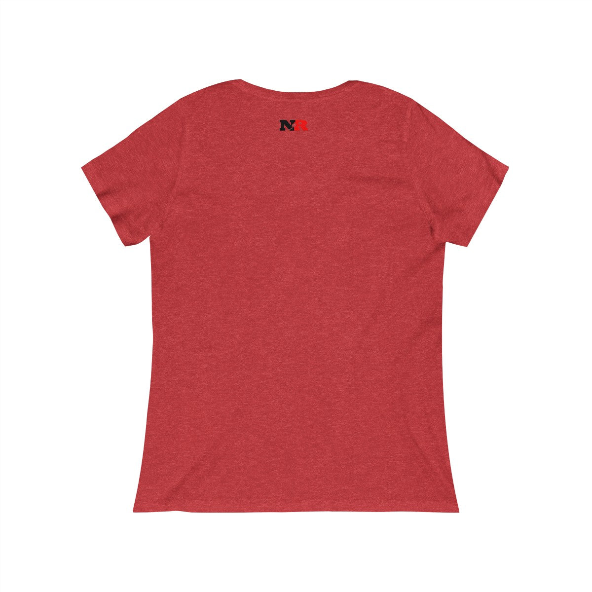 Women's Relaxed Jersey Short Sleeve Scoop Neck Tee - Caution