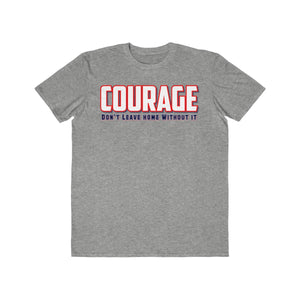 Men's Lightweight Fashion Tee - Courage VII