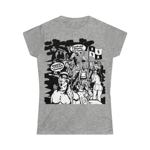 Women's Softstyle Tee - Christopher Columbus