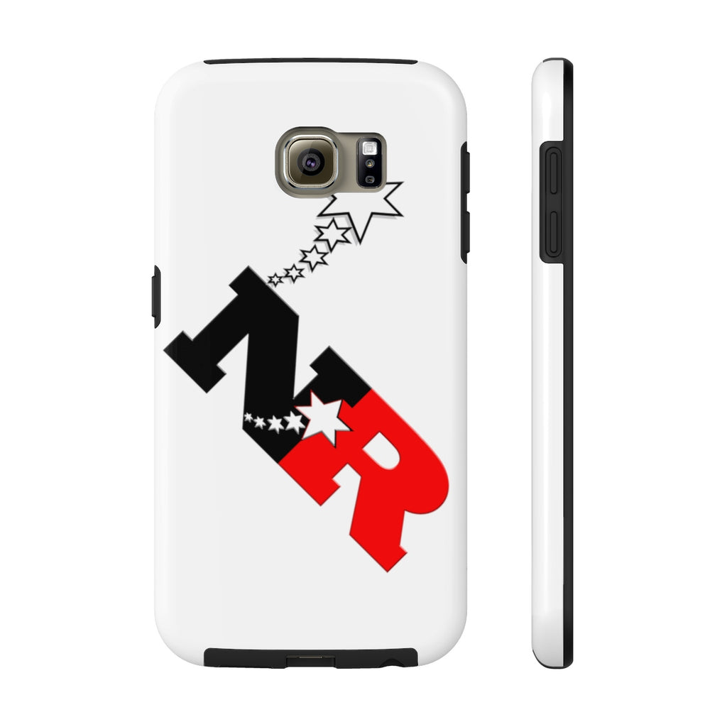 Mate Tough Phone Cases - 6 Points 5 Stars (White)