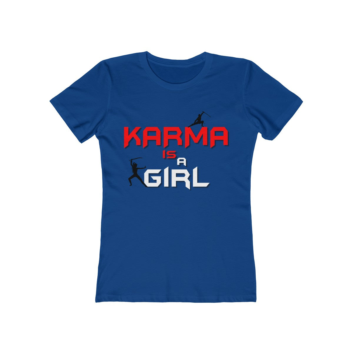 Women's The Boyfriend Tee - Karma X