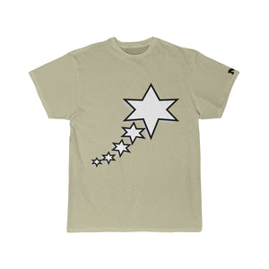 Men's Short Sleeve Tee - 6 Points 5 Stars (White)