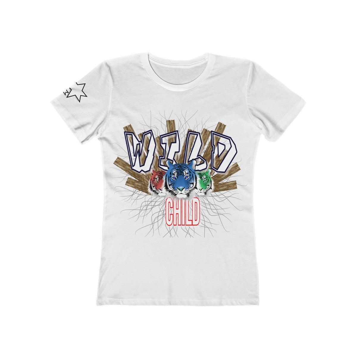 Women's The Boyfriend Tee - Wild Child