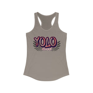 Women's Ideal Racerback Tank - Yolo 5