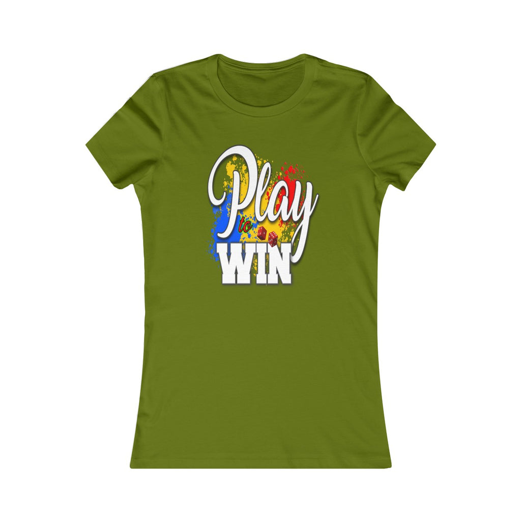 Women's Favorite Tee - Play To Win II