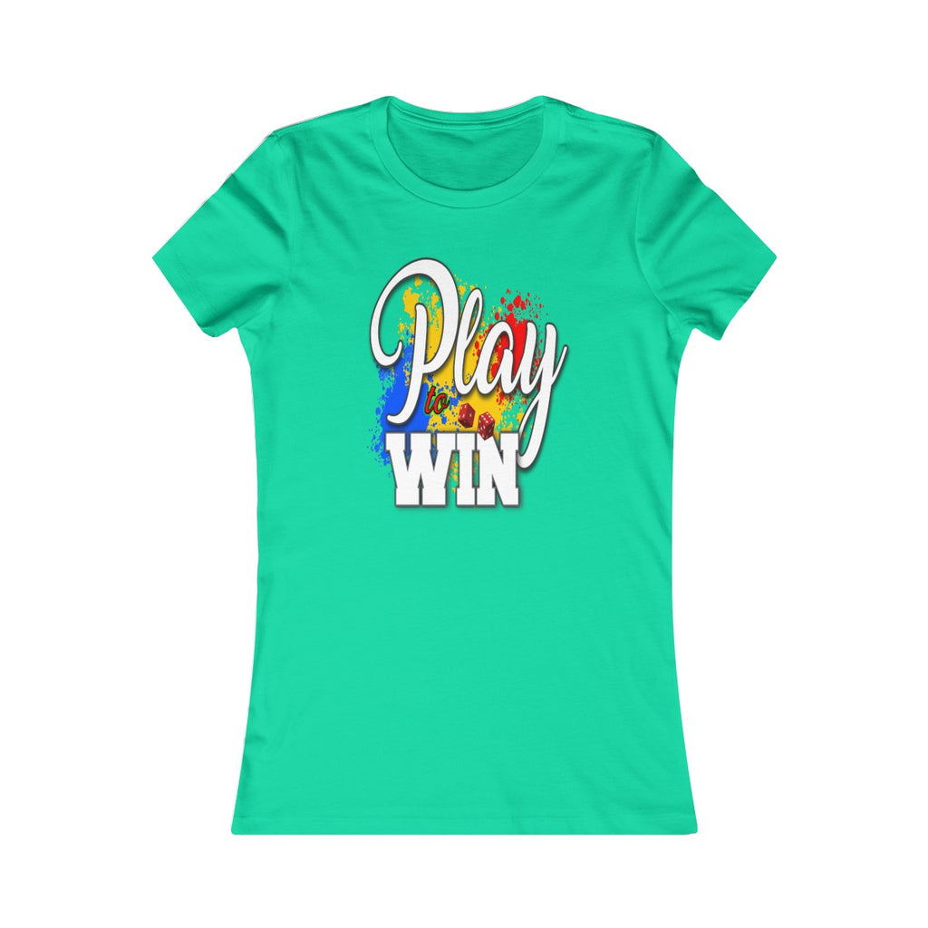 Women's Favorite Tee - Play To Win