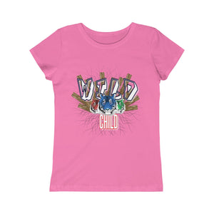 Girls Princess Tee - Wild Child