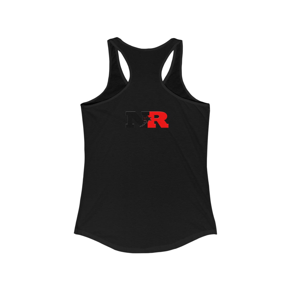 Women's Ideal Racerback Tank - 6 Points 5 Stars (White)