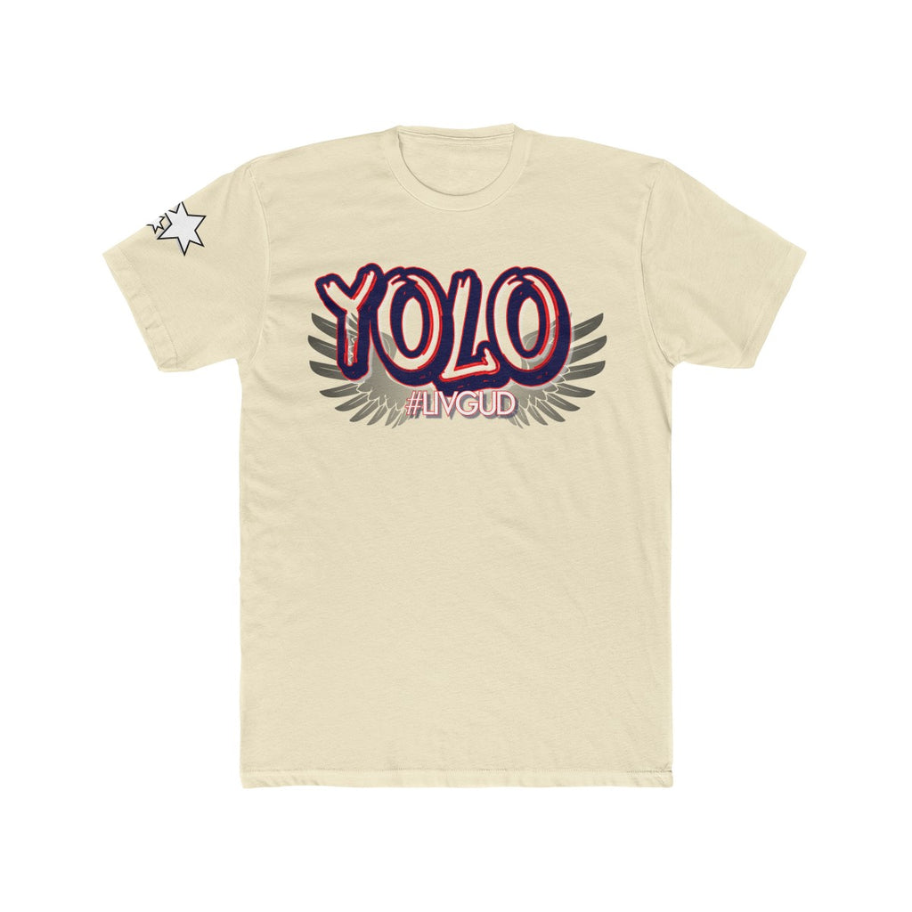 Men's Cotton Crew Tee - Yolo 5