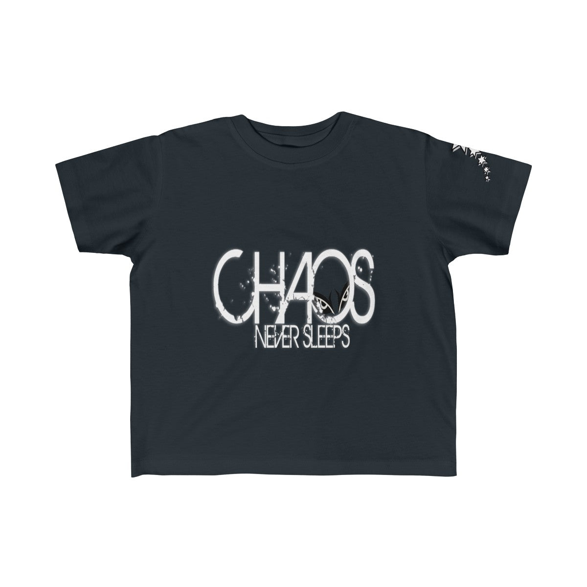 Kid's Fine Jersey Tee - Chaos Never Sleeps
