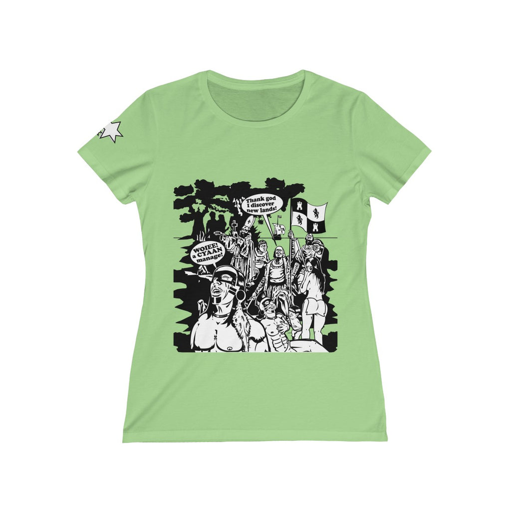 Women's Missy Tee - Christopher Columbus