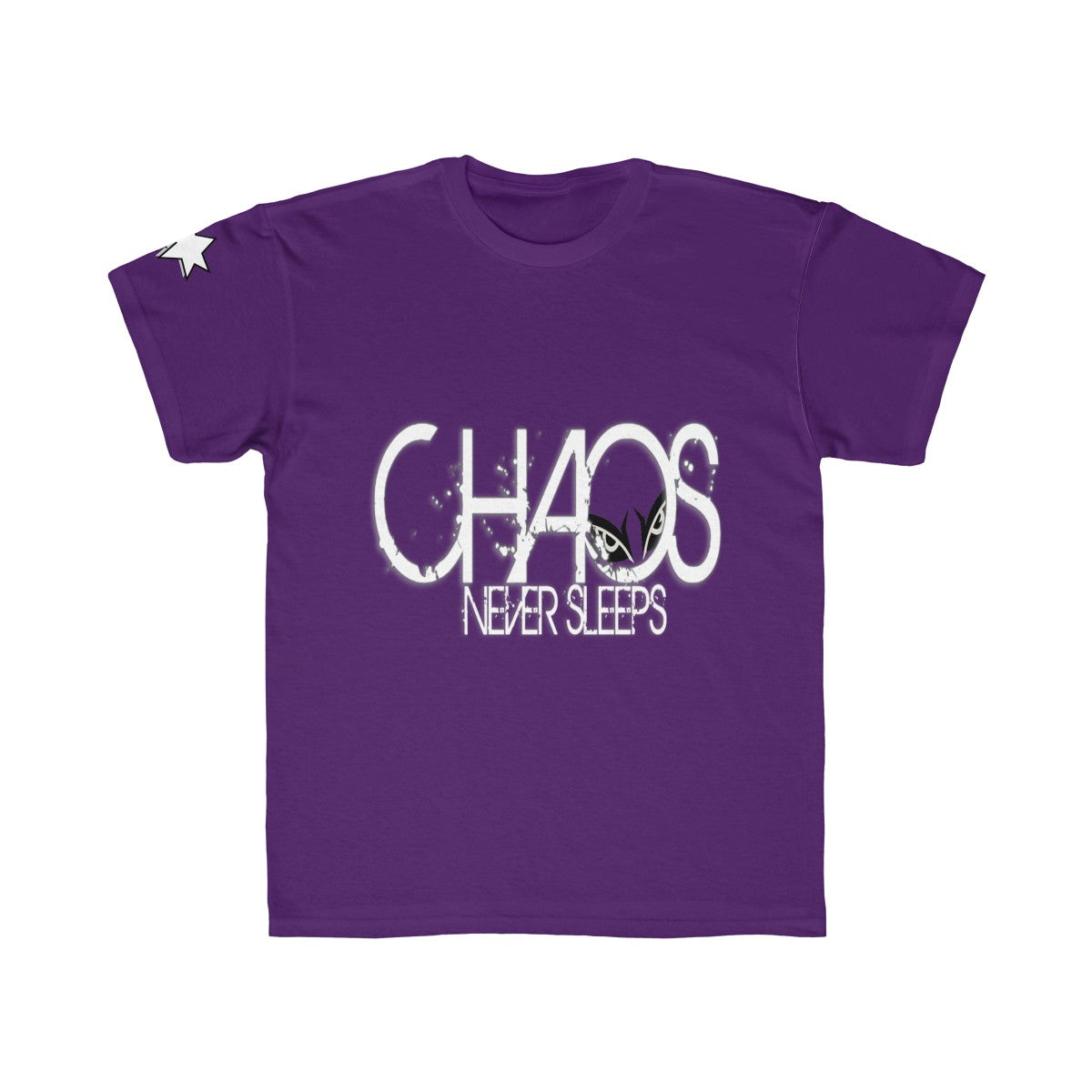 Kids Regular Fit Tee - Chaos Never Sleeps