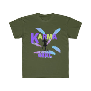 Kids Regular Fit Tee - KARMA IS A GIRL