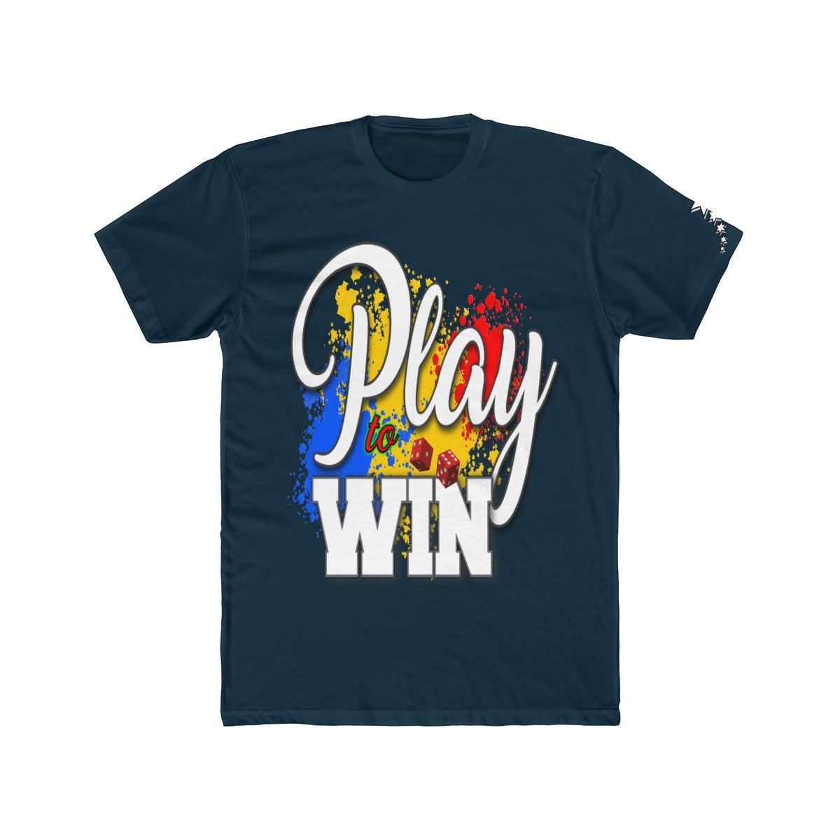 Men's Cotton Crew Tee - Play to Win