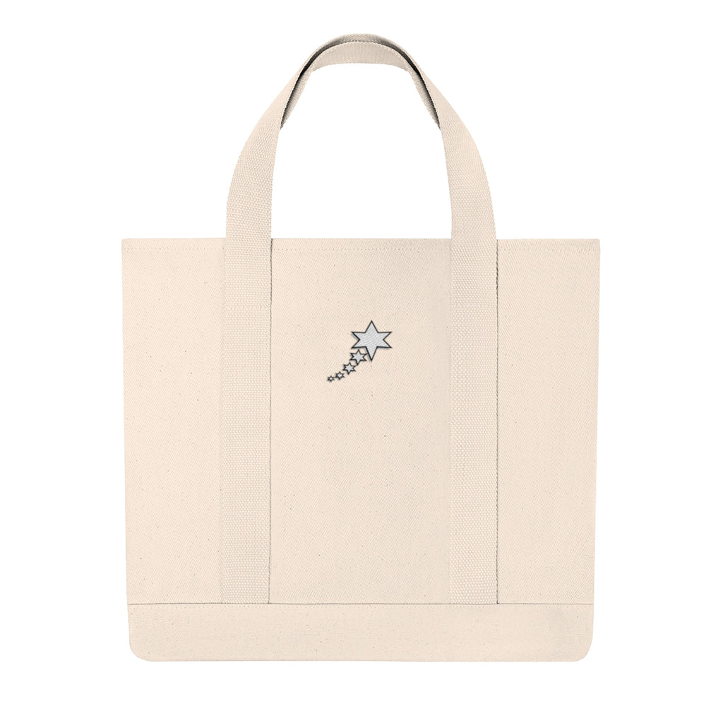 Shopping Tote - 6 Points 5 Stars (White)