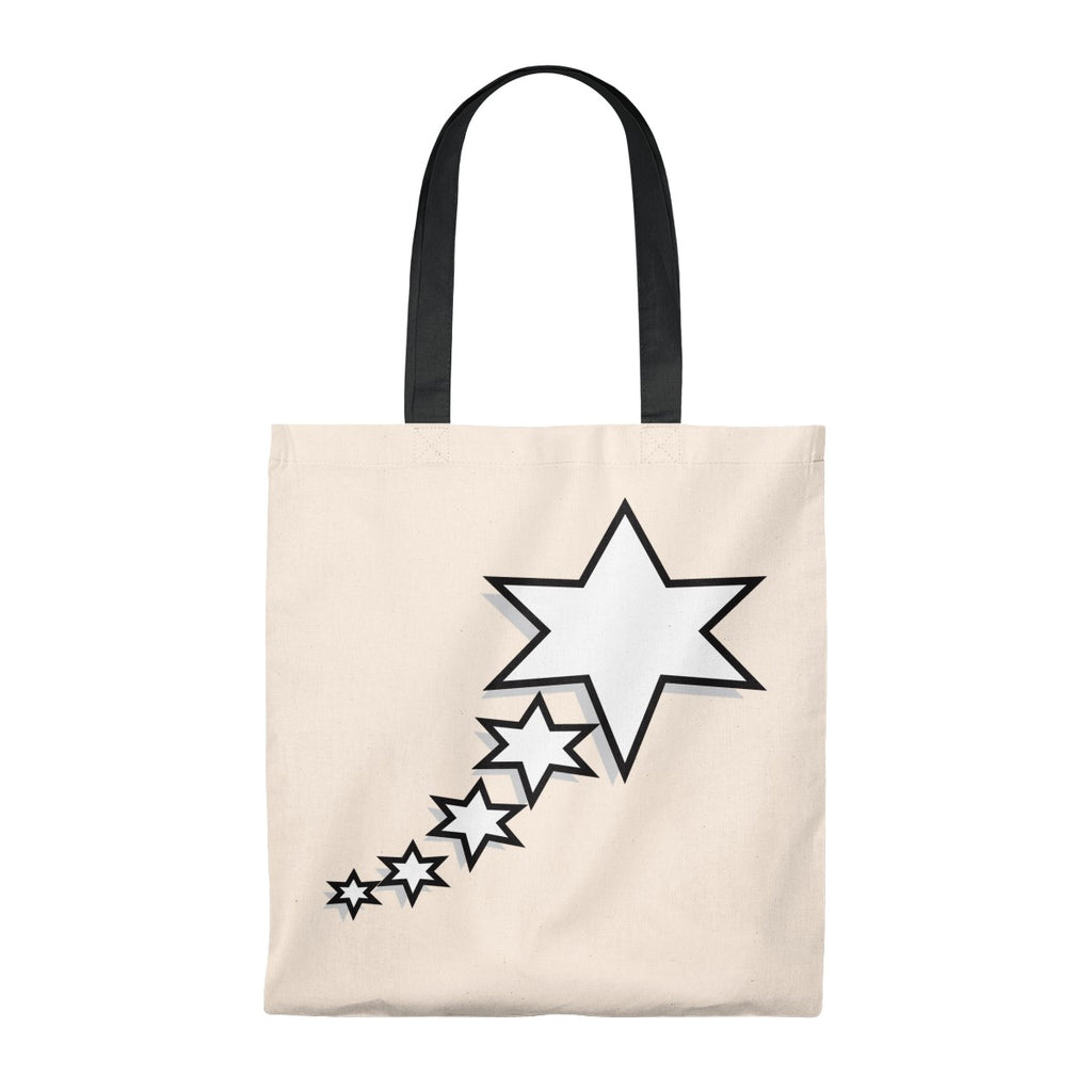 Tote Bag - Vintage - 6 Points 5 Stars (White)