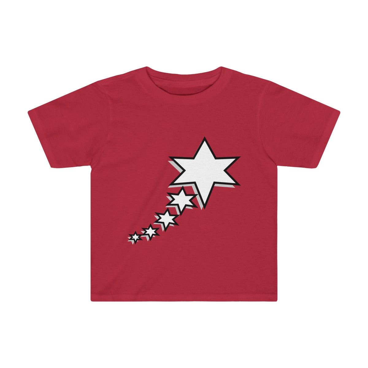 Kids Tee - 6 Points 5 Stars (White)