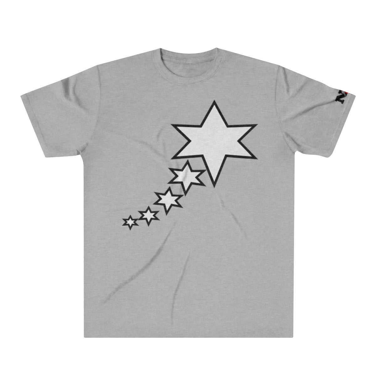 Men's Tri-Blend T-Shirt - 6 Points 5 Stars (White)